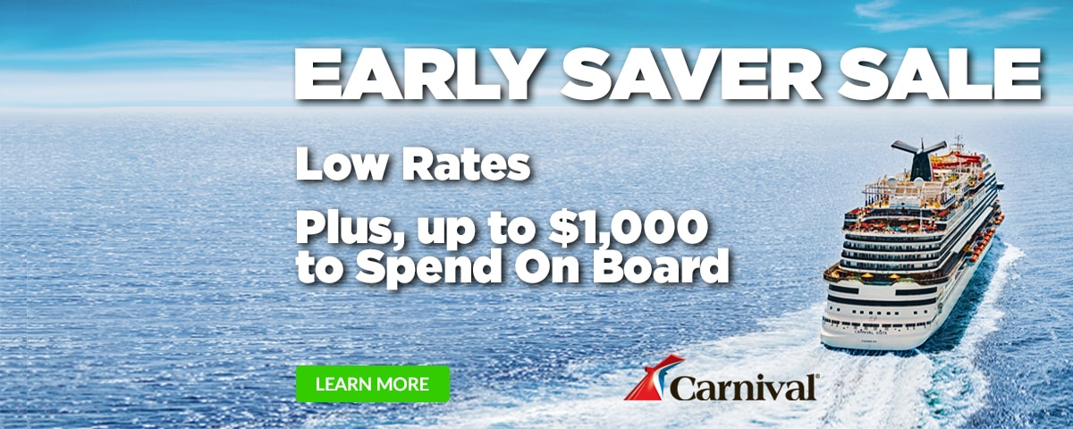 Carnival Early Saver Sale