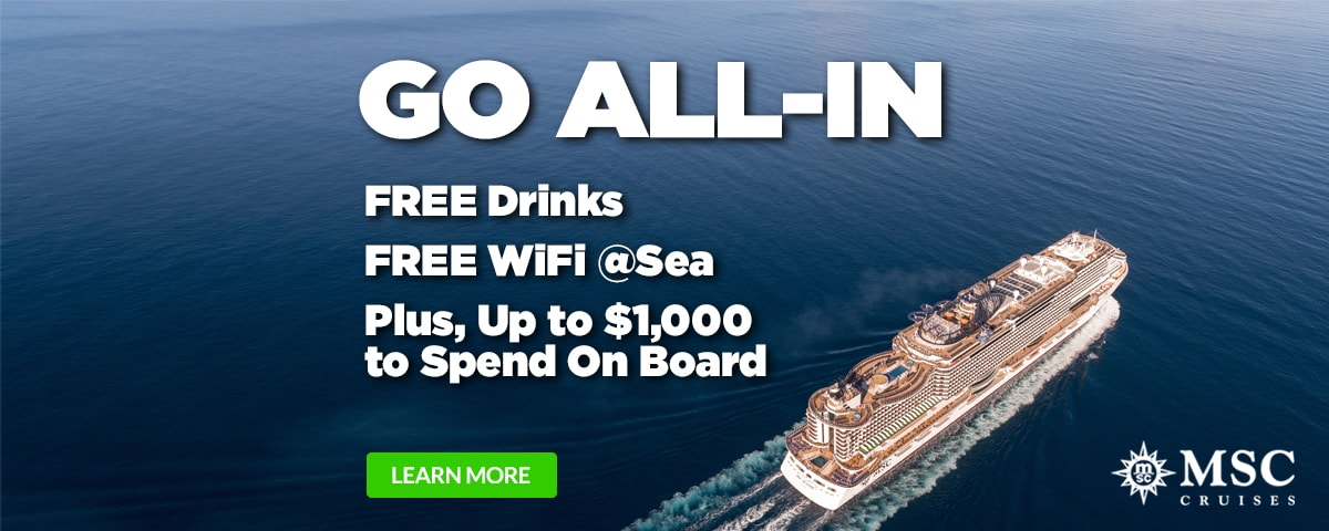 MSC Cruises - ALL IN