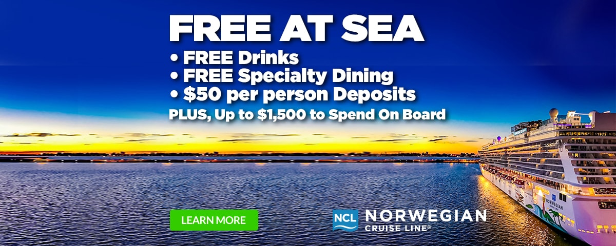 Norwegian Cruise Line - FREE at Sea