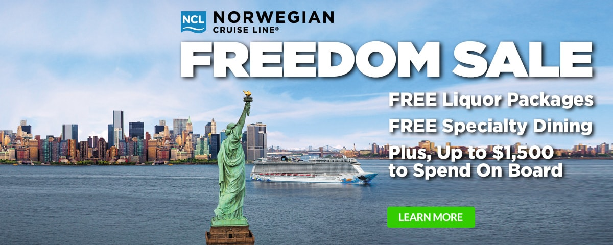 Norwegian Cruise Line - Freedom Sale