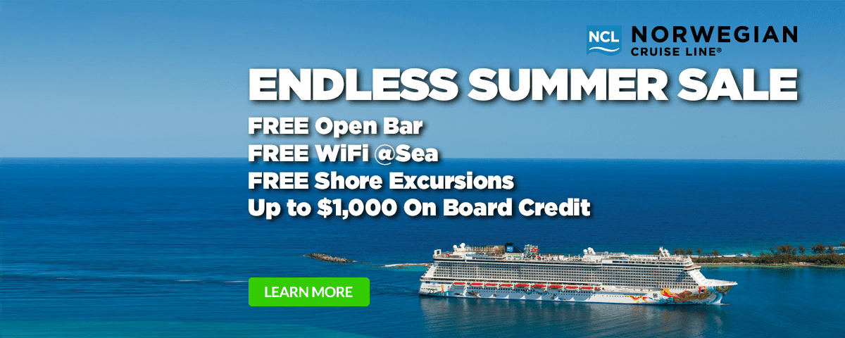 Norwegian Cruise Line - Endless Summer Sale