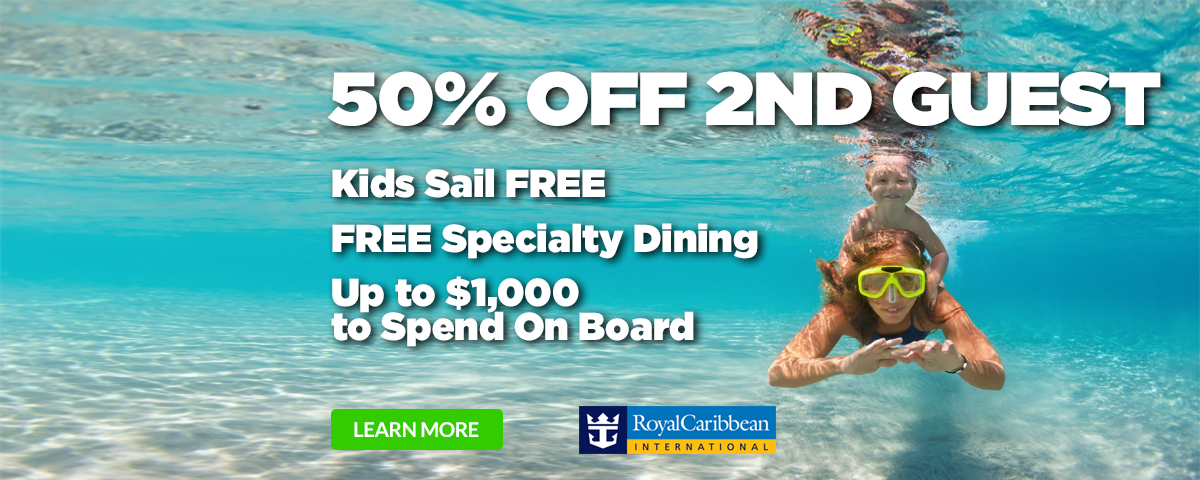 Royal Caribbean BOGO50