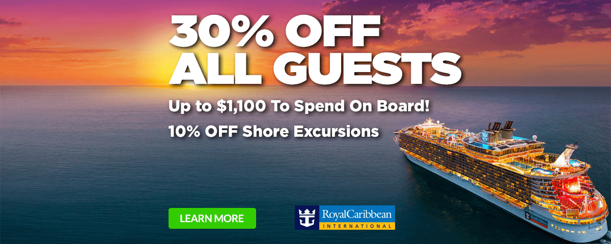Royal Caribbean 30% Off