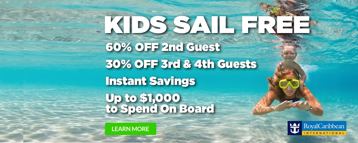 Royal Caribbean Kids Sail Free