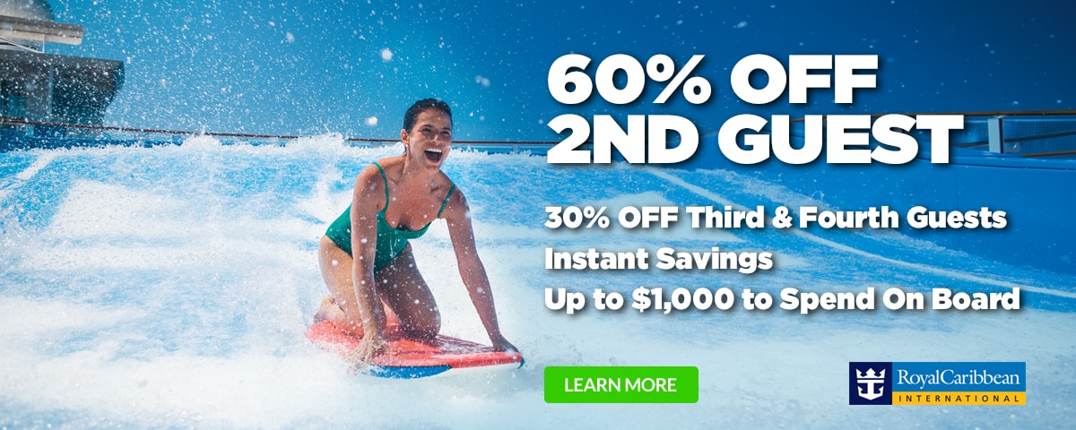Royal Caribbean BOGO60