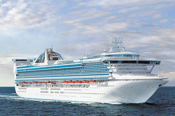 Golden Princess Cruise Ship Deals From Cruisedirect Com